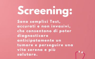 Parliamo di Screening…